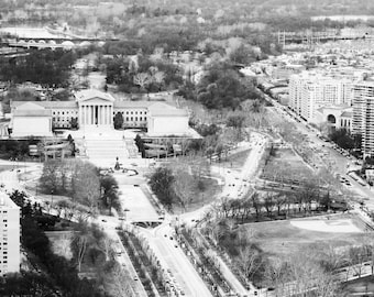 Philadelphia Art Museum Aerial