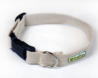 Ballboy Hemp Collar-COLOR 100% Natural Hemp Collar