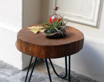 Table low wood