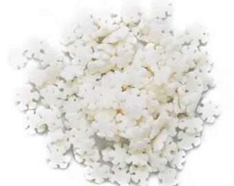 Snowflakes Edible Sprinkles - 2.6 oz