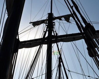 Pirate ship photograph.