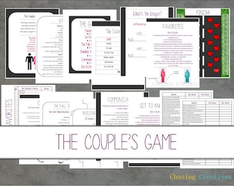 The Couple's Game Date Night Printable - Instant Download