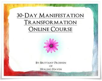 30-Day Manifestation Transformation Online Course