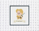 Jaime Lannister - Game of Thrones - Cross Stitch Pattern - Instant Download