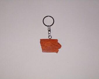 Iowa State Key Chain