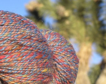 Hand Spun Yarn - Multifiber Yarn - Phat Fiber 1