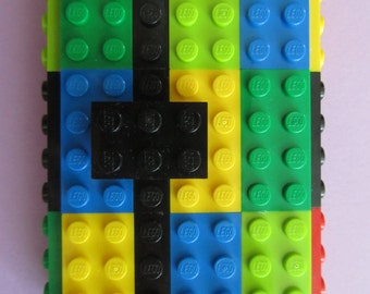 Lego Business Card Case (Red, Yellow, Brown, Green, Lime & Blue)