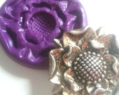 TUDOR ROSE Silicone Mold Mould 40 mm  - Cake Decorating, Cupcakes, Toppers, Fondant, Fimo, Polymer Clay