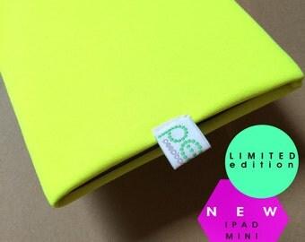 NEW...   iPad mini sock…….fluro yellow