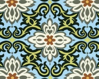 Amy Butler Lotus Temple Garland - AB20 Sky - Rowan Fabrics