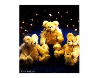 Stuffed Bears McCalls 3062 Crafts Sewing Pattern UNCUT