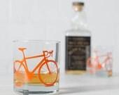 VITAL BIKE GLASSWARE screen printed bicycle glasses rocks or pint