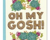 Oh My Gosh Card