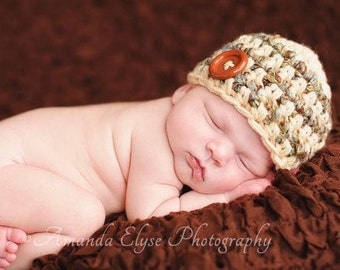 Little Man Classic Baby Hat Photography Prop Ready to Ship