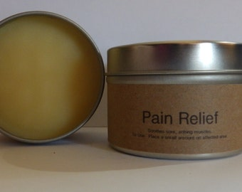 All Natural Pain Relief - 4 ounce