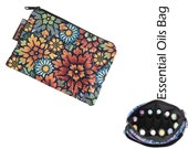 Essential Oils Take Along Bag by Borsa Bella - Waterproof lining fabric -Desert Blooms Fabric