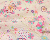 Japanese Fabric Seersucker Komachi - cream - 50cm