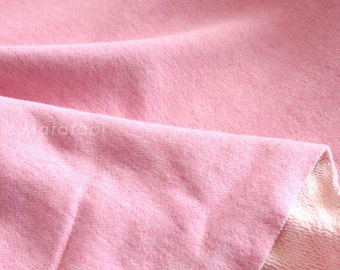 Japanese Fabric FrenchTerry Knit - pink - 50cm