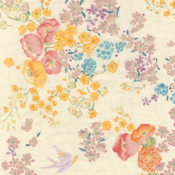 Japanese Fabric Nani Iro EN GARDEN double gauze - so - 50cm
