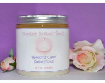 Wedding Cake Sugar Scrub (Paraben Free)