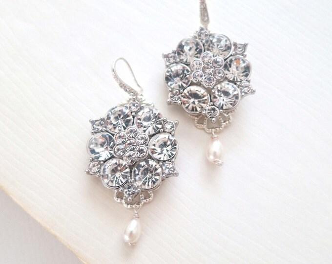 Statement Bridal Earrings CHLOE