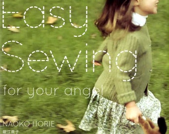 Easy Sewing For Your Angel - Japanese Dress Pattern Book MM