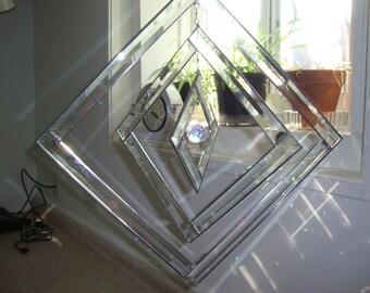 Beveled Glass Mobile