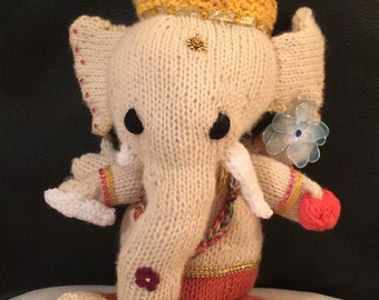 FREE Shipping CUSTOM Made to Order Hindu Deity Doll - Ganesh