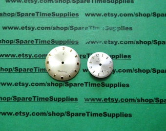 Fashion Effects - 30011 Authentic Watch Dials - 2 pcs - 1 pkg