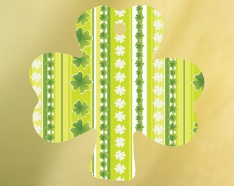 Striped Shamrock Air Freshener