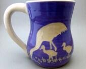 Crane and Babies Mug