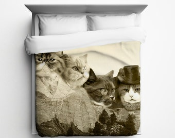 Meowmore Duvet Cover - Made in USA
