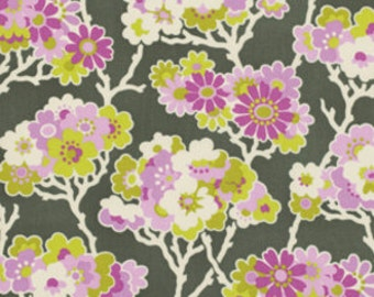 Lottie Da - By Heather Bailey - Sprig - Charcoal - 7.95 Dollars