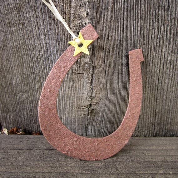 100 Plantable Paper Horseshoes Country Barn Wedding Favors - Flower Seed Paper Horseshoes - Lucky in Love Rustic Wedding Favors