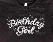 Women's Birthday T-Shirt, Birthday Girl Shirt or Tank, Graphic T Shirt for Women Girls Teens Juniors, Sweet Sixteen Top, Birthday Tee