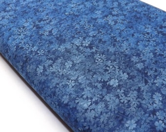 Blue Fabric, Fabric By The Yard, Robert Kaufman, Quilt Fabric, Tone on Tone Fabric, Tonal Blue Fabric, Color Collage Fabric, Sewing Fabric