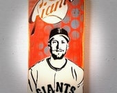 Hunter Pence Graffiti Painting on Canvas Pop Art Style Original Artwork Stencil Urban Street Art SF Giants Artwork World Series