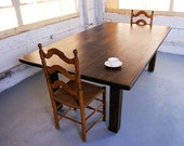 Custom Square Leg Farm Table