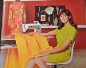 """Vintage Sewing Book """"McCall's Tips for Easy Sewing"""" 1968"""