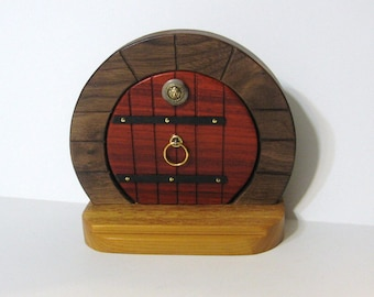 Fairy Door Made Of Three Woods