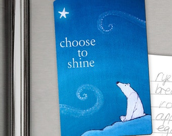 Polar Bear - Shine Magnet