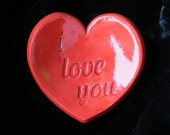 Heart Shape Ring/Trinket Bowl ready to ship-Valentine's Day  ready to ship gift for her
