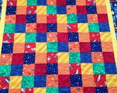 SALE Cruisng the Galaxy charm quilt