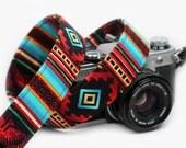 Aztec Camera Strap - Tribal, Southwestern - Santa Fe