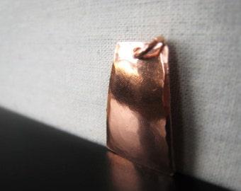 Copper Pendant Hammered Copper Pendant Connector Oxidized Copper Chandelier Item No. 3562