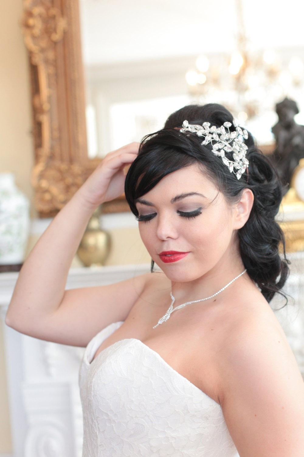 bridal hair accessories sheffield: how to style wedding hair