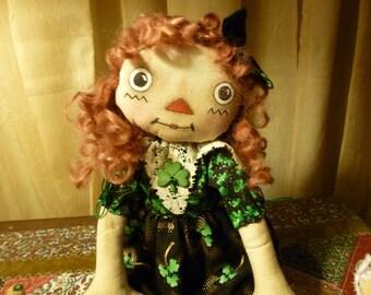 Primitive Irish Annie Doll