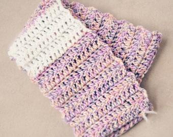 Love & Fog - Handmade crocheted scarf