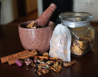 Rose, Clove, & Cinnamon Bath Tea Potpourri - 1 oz.