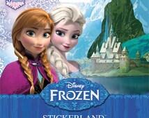 Disney Frozen Sticker Mini Stickerland Pads (SALE Bundle Discount 4 Packs • 480 Stickers) Disney Frozen Favor • Disney Princess (ST5181)